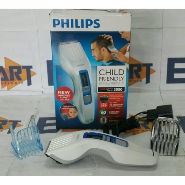 pencukur rambut Philips HC-3426 Hair Clipper pemotong mesin cukur alat. Toko  ... 85aa71a166