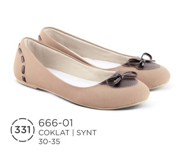 Flat shoes ballet pesta gaya anak perempuan sepatu distro azr asli