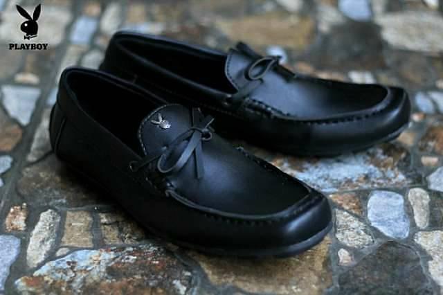 harga Sepatu kerja pria slop playboy casual kulit Tokopedia.com