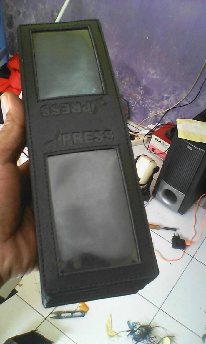 harga Dompet id card / name tag id card / dompet holder kulit Tokopedia.com