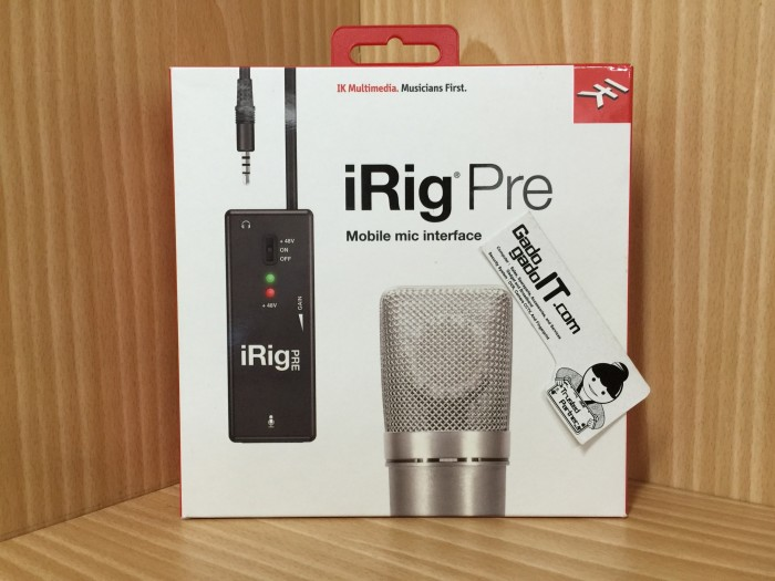 harga Ik multimedia irig pre mic/microphone interface for apple ios &android Tokopedia.com