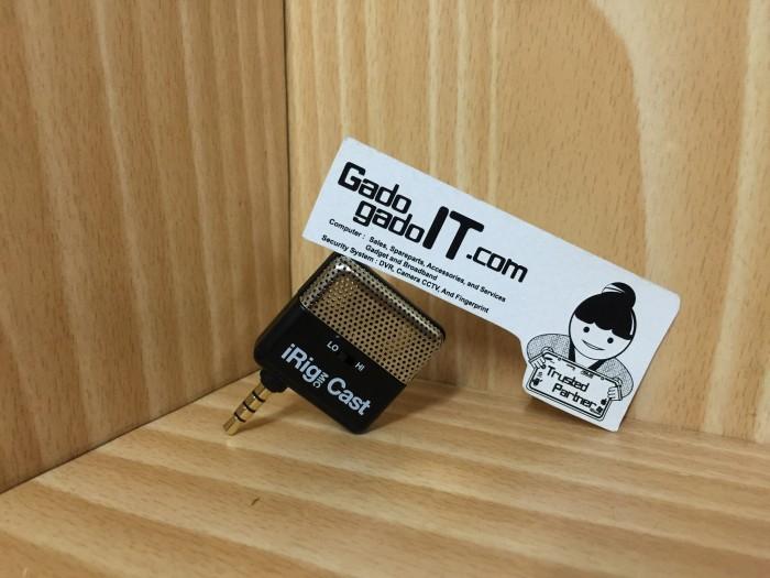 harga Ik multimedia irig mic/microphone cast for apple ios & android device Tokopedia.com