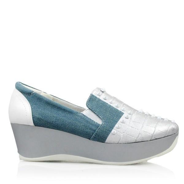 Jual Sepatu Wanita BRANDED GOSH Wedges Fashion Sneakers Studed NEW ... 9562dfd913