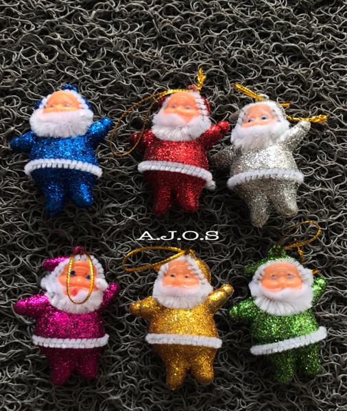Ornamen natal / gantungan pohon natal / santa clause
