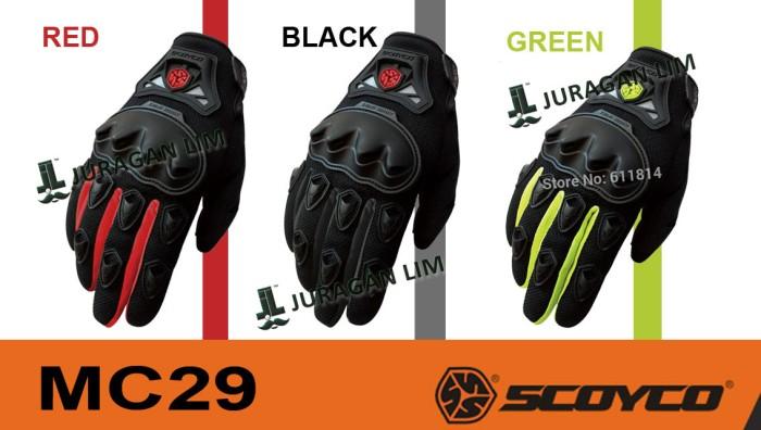 Jual Murah Glove Sarung Tangan Scoyco Mc 29   Mc29 - Full  Original ... 207cba5201