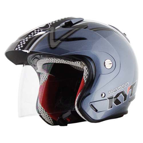 Grosir kaca helm kyt romeo & ink cx 22 bmc 560 merk CLEAN 3