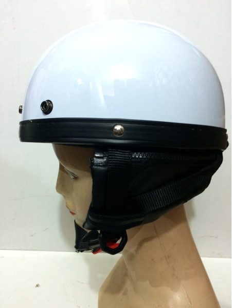 Grosir helm bogo retro rider setengah kulit 1