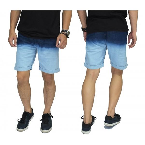 celana pendek celana jeans pendek biru celana cowok celana pria   cowo b623cf951c