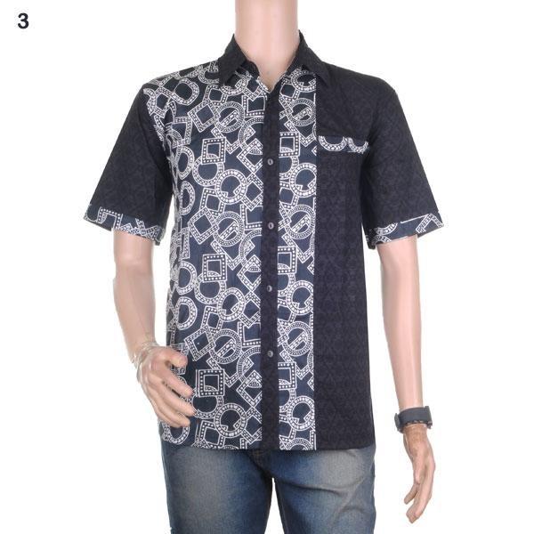 harga Kemeja batik pria modern gonta seri-2 - kombinasi embos - no 3 Tokopedia.com