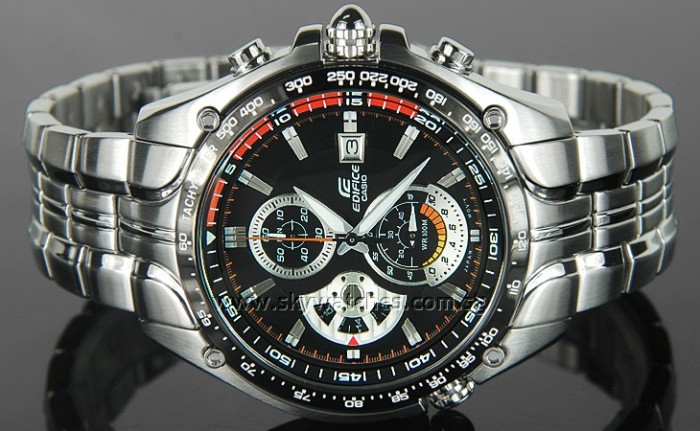 harga Jam tangan pria merk casio edifice ori bm type : ef-543 orange Tokopedia.com