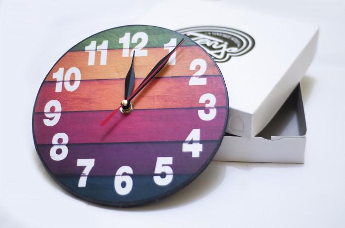 Jual jam dinding VINTAGE - kayu classic dengan design modern - TENJO ... edf2e49c53