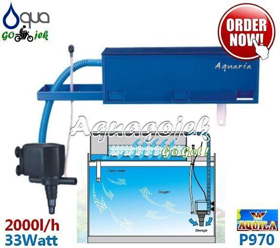 harga Aquila p970 filter atas aquarium top filter Tokopedia.com