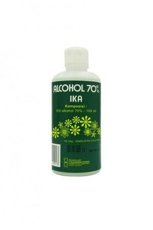 harga Alkohol ika 70% isi 100ml [6 pcs] Tokopedia.com