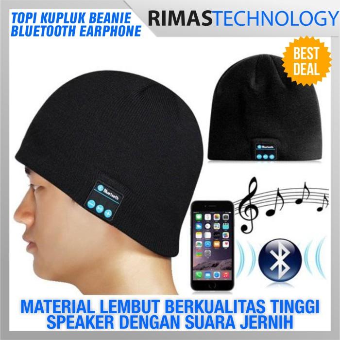 harga Topi kupluk beanie multifungsi handsfree earphone cover helm bluetooth Tokopedia.com