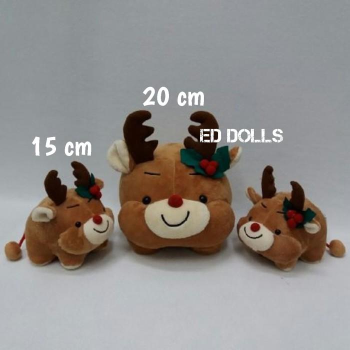 Boneka: christmas / natal - baby reindeer… Rp. 57.500. Ke Penjual · 13 cm Dengan Bulu Kelinci Imut Kelinci Mini Keychain Pasangan Mainan Tas ...