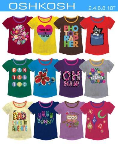 Jual kaos anak perempuan oshkosh kaos anak branded baju anak grosir ... faad827d99