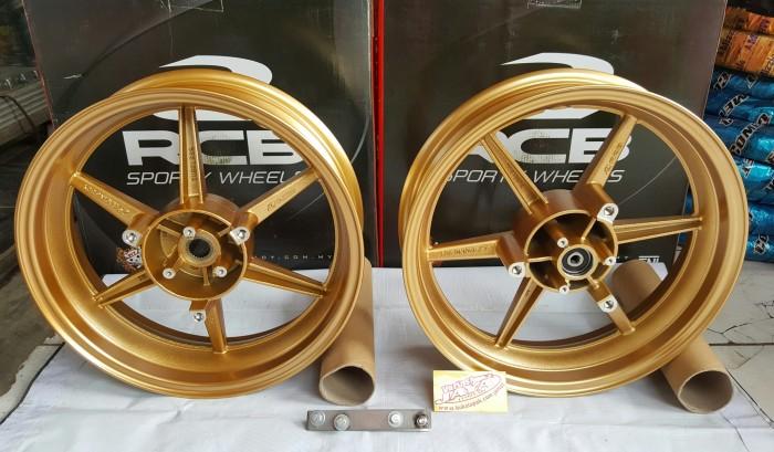 Velg Racing RCB NMAX warna Gold