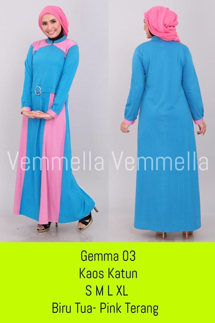 Jual Dress Simple Hijab Pesta Busana Muslim Wanita Dewasa Vemmella Gemma 03 Kota Bandung Situsbelanjaku Tokopedia