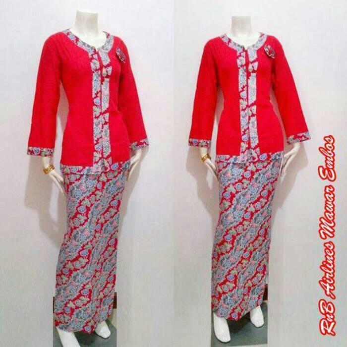 Model Batik Kerja Santai: Jual Jual Baju Kerja Santai Batik Air Line Indonesia