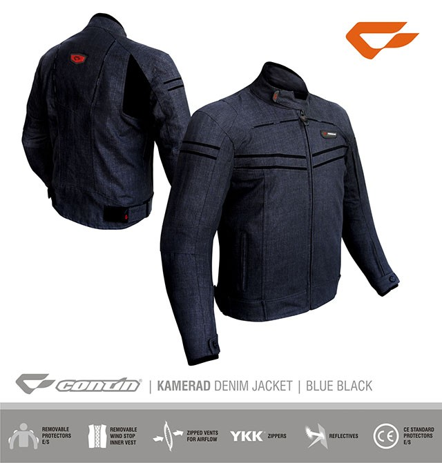 harga Contin kamerad jeans man / woman (jaket safety touring & daily ) Tokopedia.com