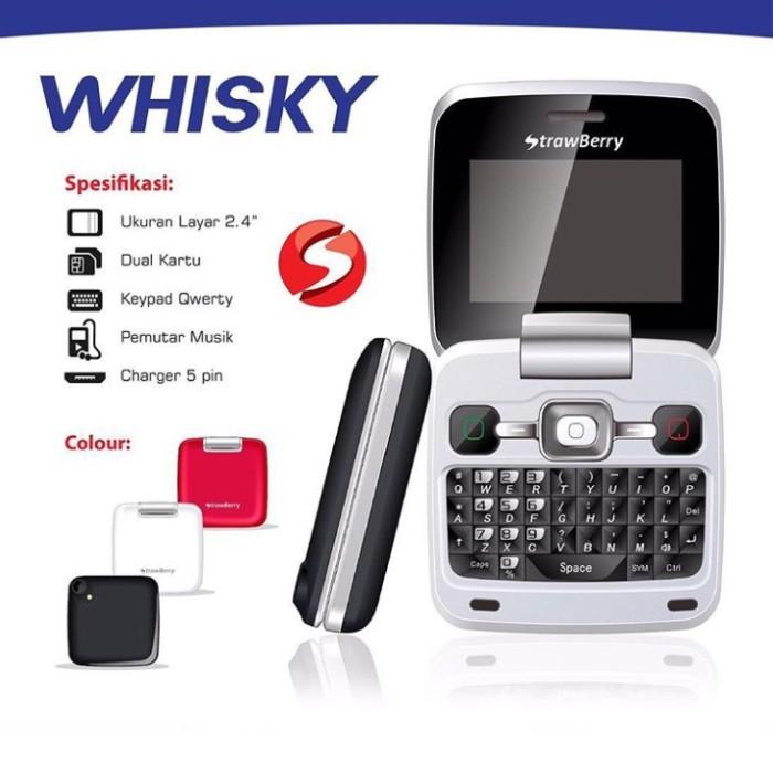 harga Handphone flip strawberry whisky qwerty lcd 2.4 inch 2 gsm camera fm Tokopedia.com