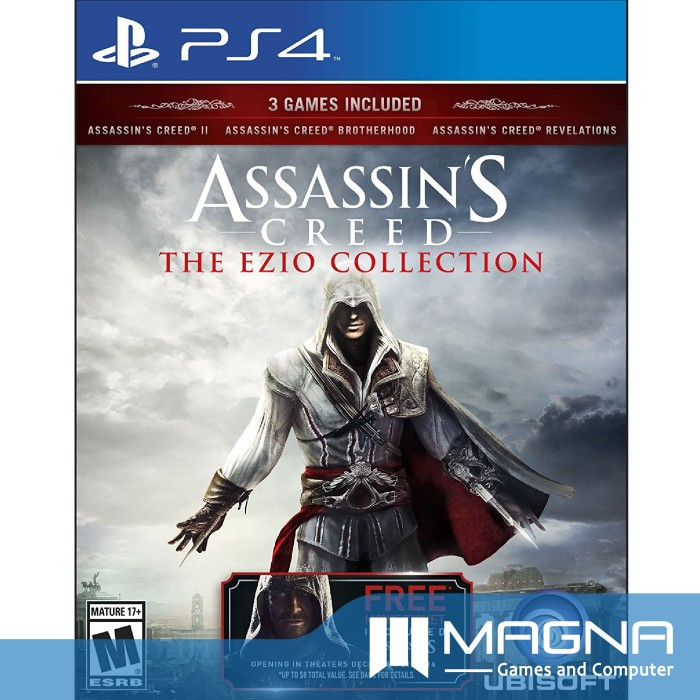 Jual Ps4 Game Assassin S Creed Ac The Ezio Collection Kota