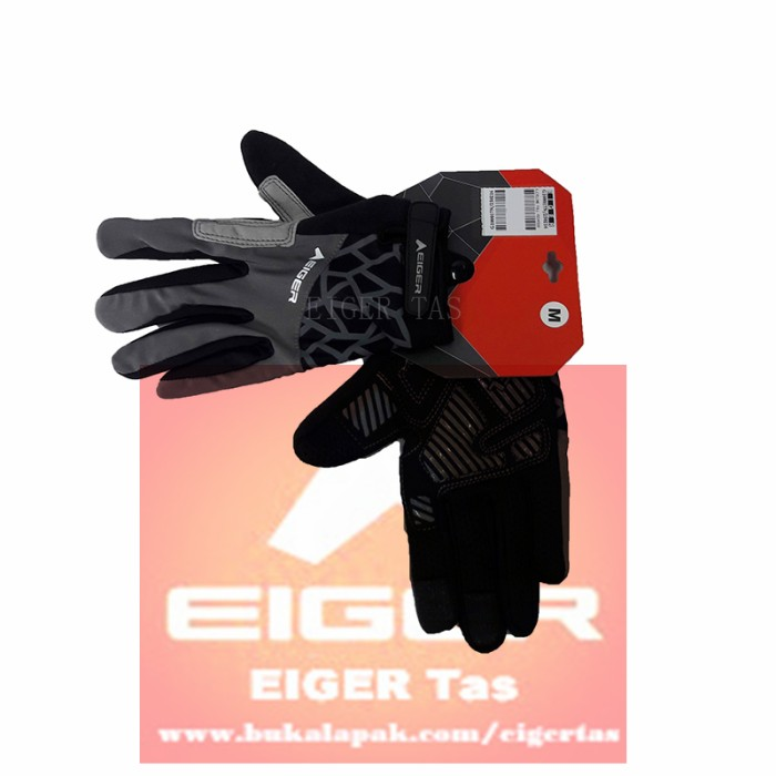 Sarung Tangan Eiger G1000 / Glove CYCLING Full Finger .