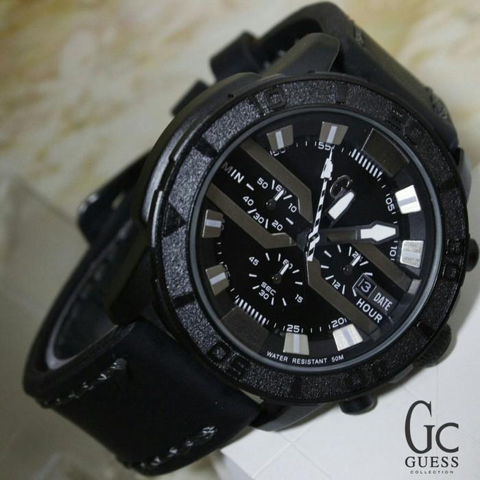Jam Tangan Pria / Cowok Guess Collection GC 01 Super