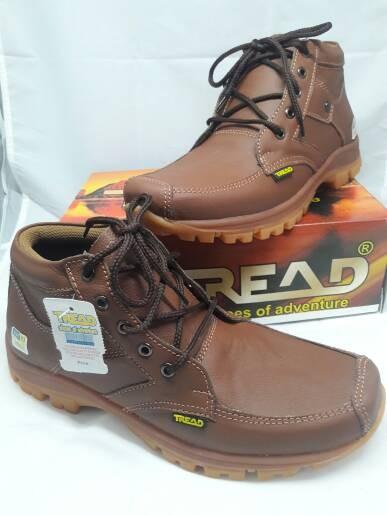 harga Sepatu casual boot pria kulit asli tread tan Tokopedia.com