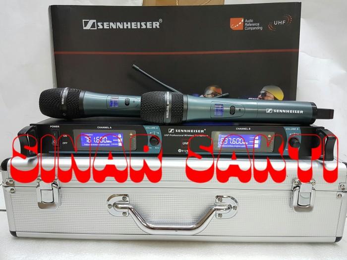 harga Mic wireless sennheiser e 912s + hardcase ( handheld ) Tokopedia.com