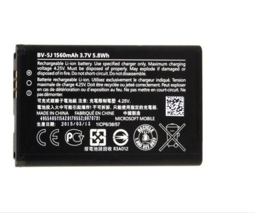 harga Baterai batre nokia bv5j bv-5j nokia lumia 435/532 battery original100 Tokopedia.com