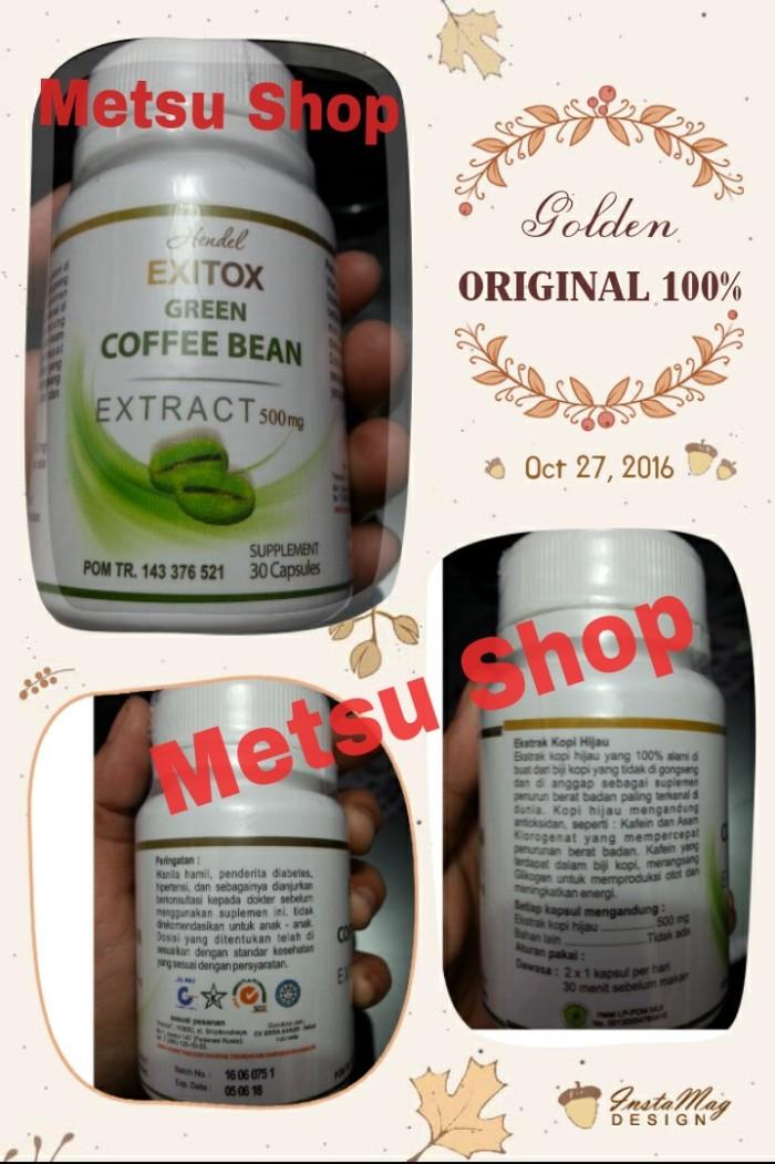 GREEN COFFEE BEAN ORIGINAL KAPSUL KOPI HIJAU PELANGSING DIET HERBAL