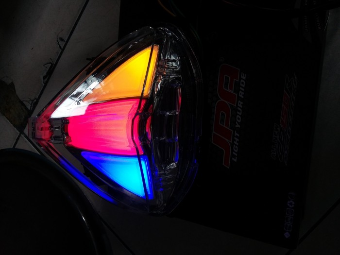 harga Stoplamp+sen all new cb150 jpa/lampu belakang led honda cb 150 cb150r Tokopedia.com