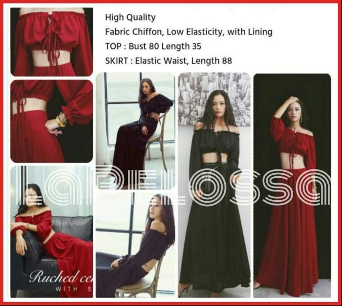 Foto Produk Setelan Belly Dress Import Code IW dari LaPelosa Shop