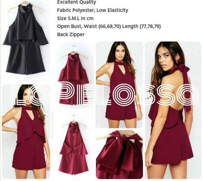 Foto Produk Backless Dress Import Code IW dari LaPelosa Shop
