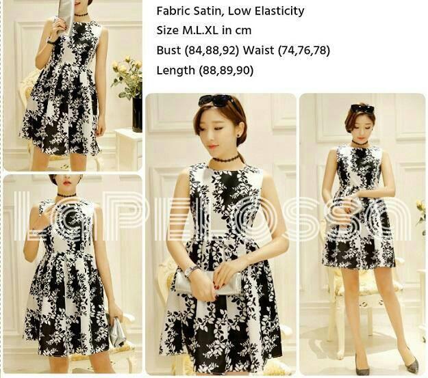 Foto Produk Dress Swing Import Code IW dari LaPelosa Shop