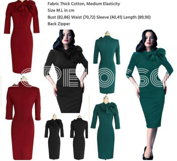 Foto Produk Dress Pita Formal Code IW dari LaPelosa Shop