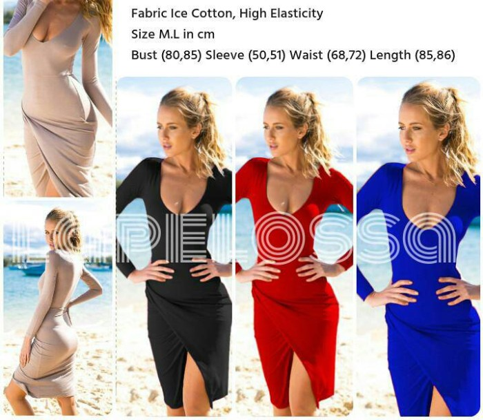 Foto Produk Mini Dress Import Code IW dari LaPelosa Shop