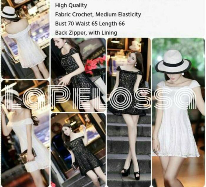 Foto Produk Dress Swing Import b/w Code IW dari LaPelosa Shop