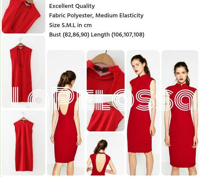 Foto Produk Cheongsam Dress Import Code IW dari LaPelosa Shop