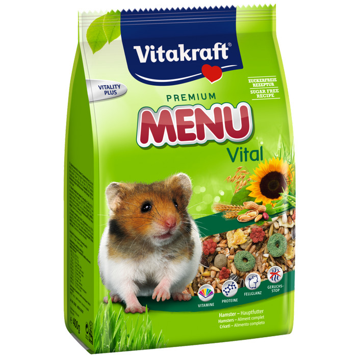 Vitakraft Menu Vital for Hamster 400 g. Makanan Hamster