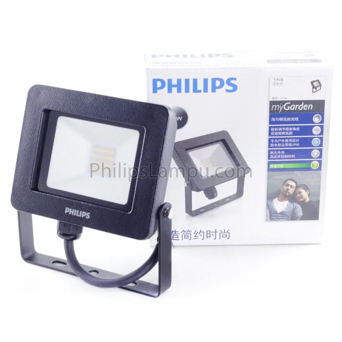 Foto Produk Lampu Sorot LED Outdoor Philips 17341 10W Natural Tembak dari philipslampu