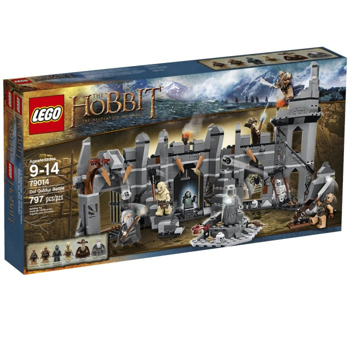 Jual Lego The Hobbit 79014 Dol Guldur Battle Lord Of The Rings