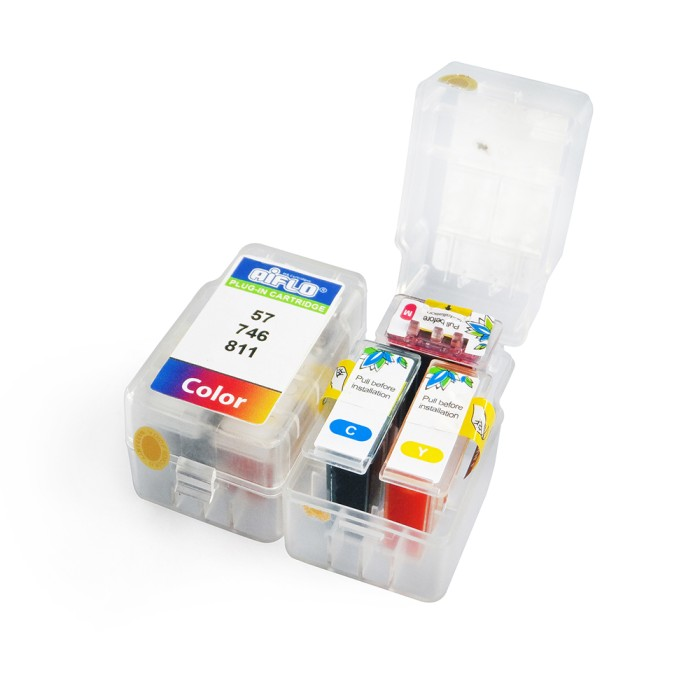 harga Aiflo plug-in 811 (color) smart cartridge printer inkjet ip2770,mp237 Tokopedia.com