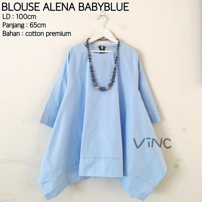95 Gambar Baju Baby Blue Wanita Terbaik