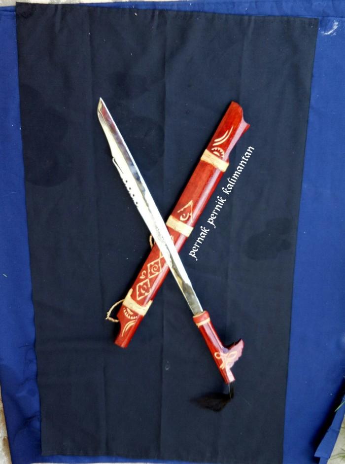 harga Mandau bahan stenlis ukir naga senjata khas dayak kalimantan Tokopedia.com