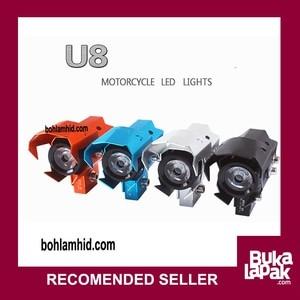 Lampu Tembak LED Cree U8 Wolverine Sorot 12V 80V 15W GARANSI