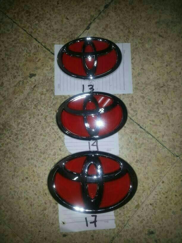 harga Logo toyota merah 12cm13cm14 cm15cm17cm Tokopedia.com