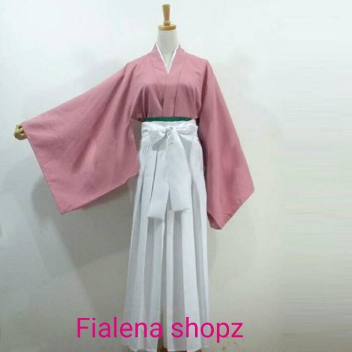 harga Yukata hakama kimono tradisional jepang cosplay yukimura chizuru xl Tokopedia.com