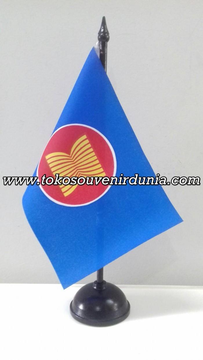 Jual Bendera Meja Organisasi ASEAN Buat Acara Meeting Kantor Dan Koleksi Kota Bandung TokoSouvenirDunia
